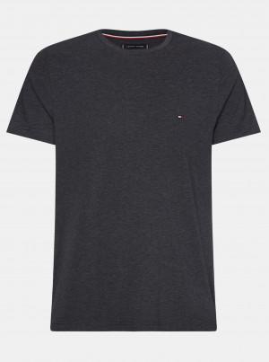 Černé pánské basic tričko Tommy Hilfiger