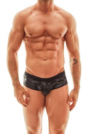 Pánské slipy otevřené Electro Jock Bikini - Anais černá