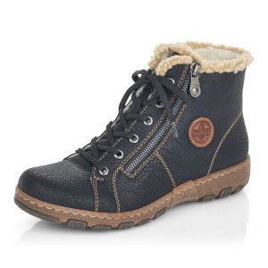 RIEKER, Kotníčková obuv  Z0121-00 černá EU