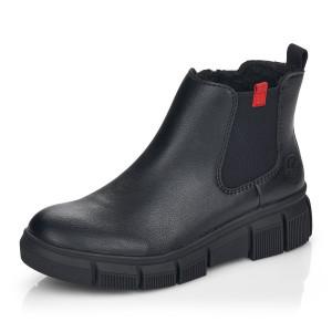 RIEKER, Kotníčková obuv  X3450-00 černá EU