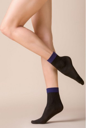 Dámské ponožky Gabriella 519 Lia Nero uniwersalny