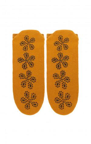 Dámské ponožky Bratex D-064 Frotta ABS černá 36-38