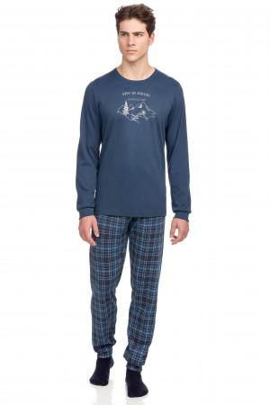 Vamp - Pohodlné dvoudílné pánské pyžamo 15691 - Vamp raf xxl