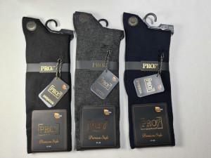 Pánské ponožky PRO Premium Style 20-874 - Modal tmavě modrá 41-44