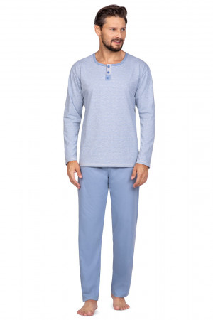 Pánské pyžamo Regina 593 dł/r M-XL béžová