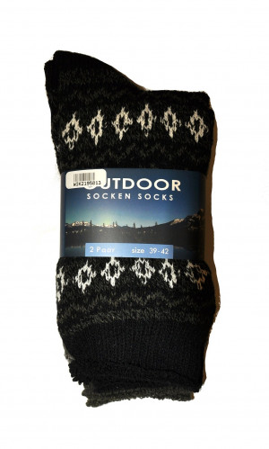 Pánské ponožky WiK 21950 Outdoor Socken Socks A'2 beżowy-brązowy 39-42