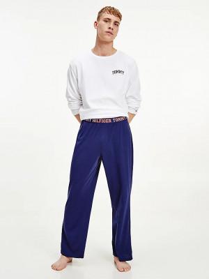 Pánské pyžamo League UM0UM02374 - 0SR - Bíla - Tommy Hilfiger bílá