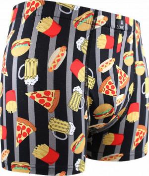 Pánské boxerky Lonka vícebarevné (Kevin-fastfood)