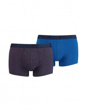 Pánské boxerky Puma 907832 Cotton A'2 blue