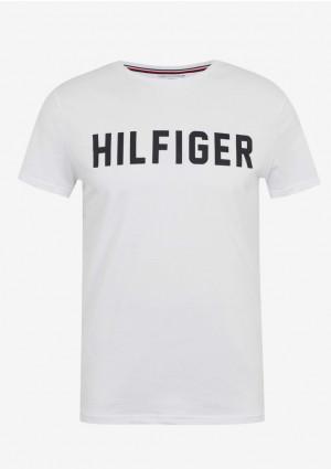 Pánské tričko Tommy Hilfiger UM0UM02011 L Bílá