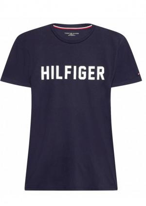 Pánské tričko Tommy Hilfiger UM0UM02011 L Tm. modrá