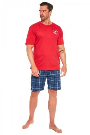 Pánské pyžamo 326/184 Base camp 2 - CORNETTE červená