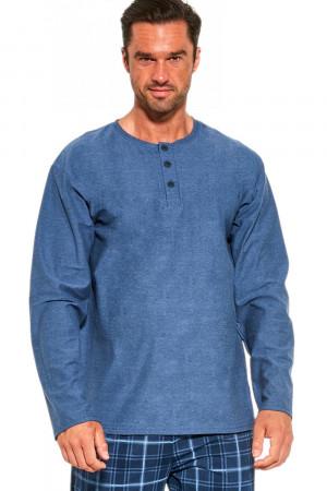 Pánské pyžamo 458/190 Patrick - CORNETTE světle modrá
