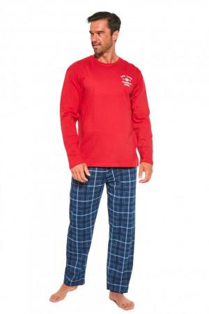 Pánské pyžamo 124/183 Base camp - CORNETTE červená