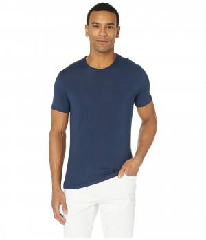 Pánské ultra-soft tričko NM1658E C9K královská modrá - Calvin Klein královská modř