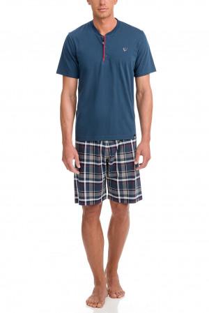 Vamp - Pánské pyžamo 12601 - Vamp light gray m
