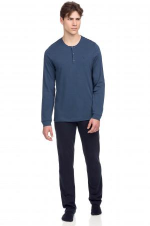 Vamp - Pohodlné dvoudílné pánské pyžamo 15696 - Vamp raf xxl