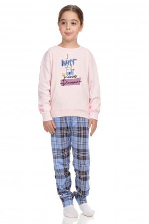Vamp - Dvoudílné dětské pyžamo 15434 - Vamp pink xs