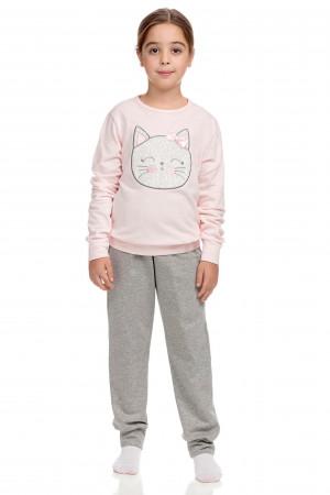 Vamp - Dvoudílné dětské pyžamo 15238 - Vamp pink m