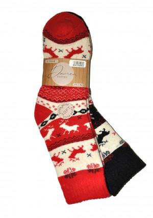 Dámské ponožky WiK 37829 Damen Extra Warm A'2 czarny-czarny 35-38