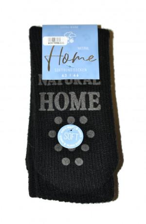 Dámské ponožky WiK 70961 Home Natural ABS černá 43-46