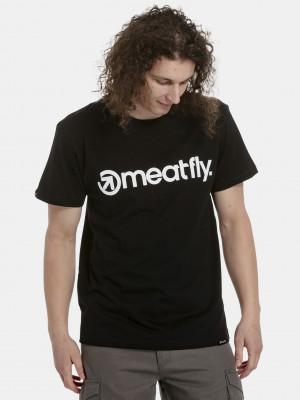 Logo Triko Meatfly Černá