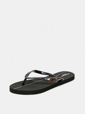 Sandal Žabky Calvin Klein Černá