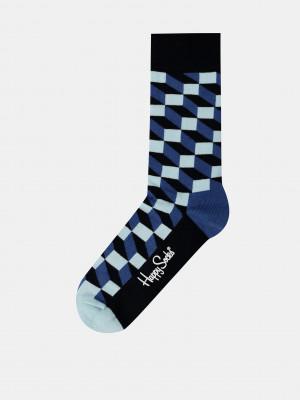 Filled Optic Ponožky Happy Socks Modrá