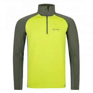Pánské funkční tričko Willie-m světle zelená - Kilpi (nadměrná velikost) 5XL