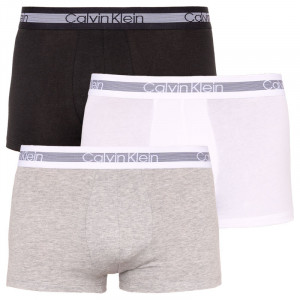 3PACK pánské boxerky Calvin Klein vícebarevné (NB1799A-MP1)