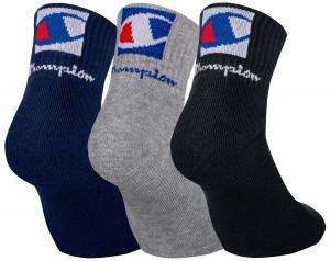 3PACK ponožky Champion vícebarevné (Y0B0B) 43-46