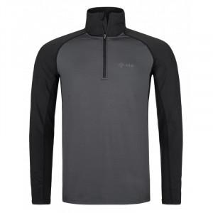 Pánské funkční tričko Willie-m šedé - Kilpi (nadměrná velikost) 5XL