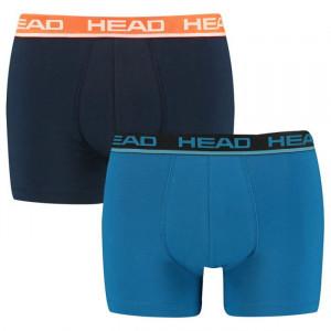 2PACK pánské boxerky HEAD modré (701202741 002)