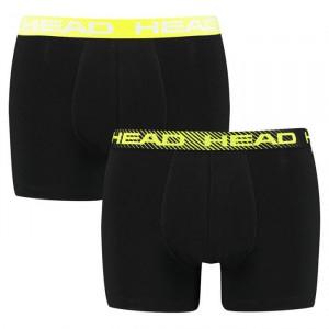 2PACK pánské boxerky HEAD černé (701202740 001)
