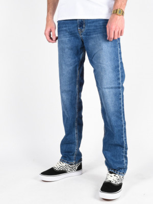 AQUA CULT AGED AGED Jeans Quiksilver Modrá