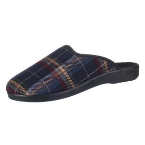 ROGALLO, Domácí obuv  4100/123 modrá EU