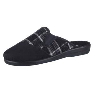 ROGALLO, Domácí obuv  6074/008 černá EU