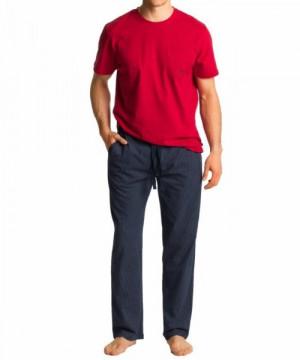 Atlantic NMP-347 červené Pánské pyžamo XXL červená-tmavě modrá