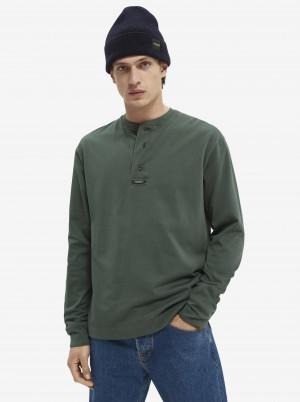 Zelené pánské tričko Scotch & Soda