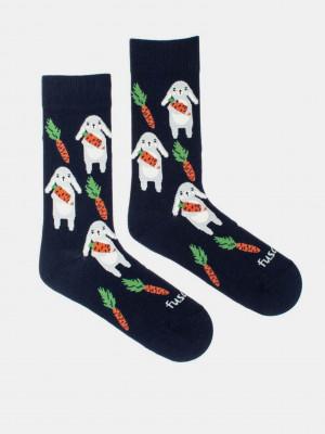 Zajíc Ponožky Fusakle Modrá