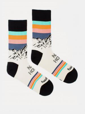 Ráno na horách Ponožky Fusakle Bílá