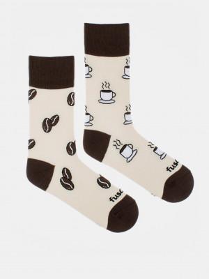 Životabudič Ponožky Fusakle Bílá