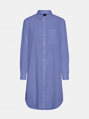 Hella Košile Vero Moda Modrá