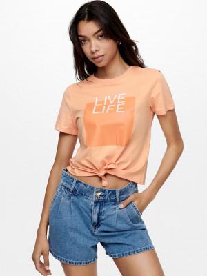 Triko ONLY Oranžová