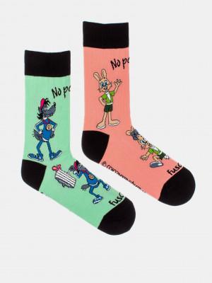 No počkej! Ponožky Fusakle