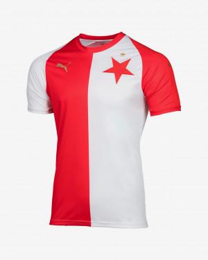 SK Slavia Home Jersey Pro Fit Triko Puma