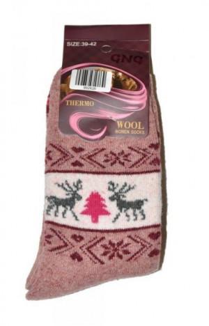 Ulpio GNG 9926 Thermo Wool Dámské ponožky 35-38 béžová
