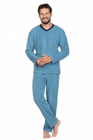 Regina 592 Pánské pyžamo plus size 3XL zelená