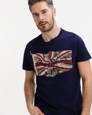 Pepe Jeans Flag Triko Modrá