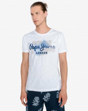 Pepe Jeans Golders Triko Bílá